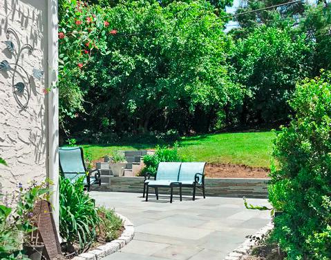 Flagstone Patio and walkway